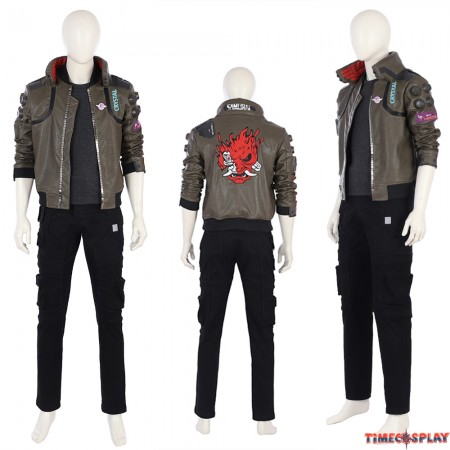 Cyberpunk 2077 Male V Cosplay Costume