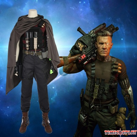 Deadpool 2 Nathan Summers Costume Cable Cosplay Costume