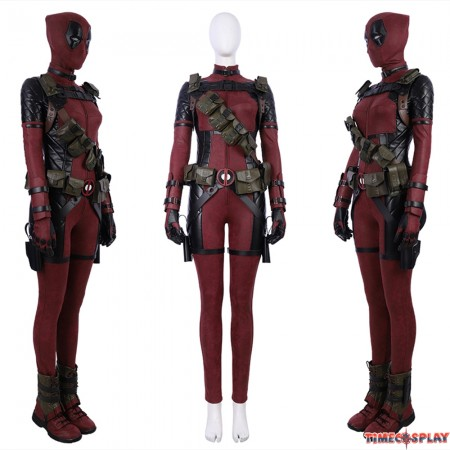 Deadpool Female Cosplay Costume Deluxe Version
