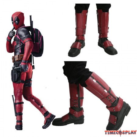 Deadpool Wade Winston Wilson Shoes Cosplay Boots
