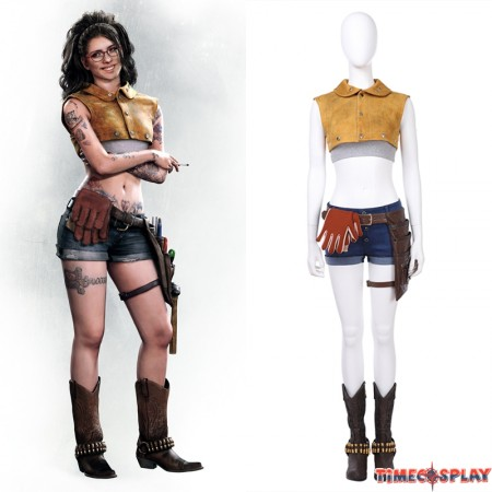 Devil May Cry Nico Cosplay Costume