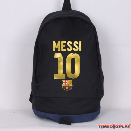FC Barcelona Messi 10 Backpack Travel Shoulder Bags
