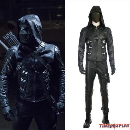 Green Arrow 5 Prometheus Costume Quentin Lance Cosplay Costume