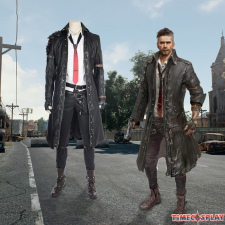 Hot Game PUBG Cosplay Costume PLAYERUNKNOWN'S BATTLEGROUNDS Costume