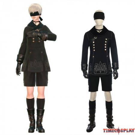 NieR: Automata 9S Cosplay Costumes - Deluxe Version