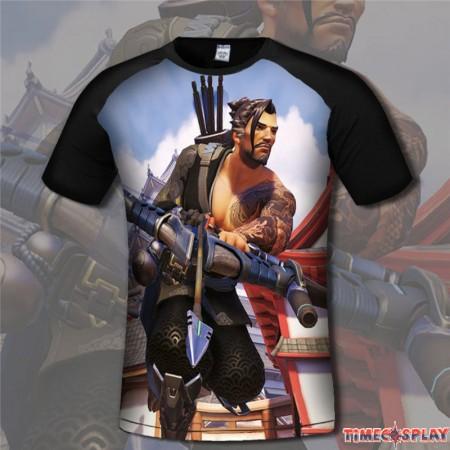 Overwatch Hanzo 3D Print Men T-Shirts