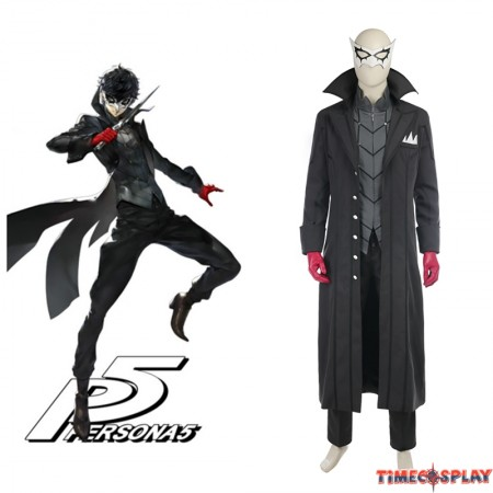 Persona 5 Kaitou Cosplay Costume Full Set
