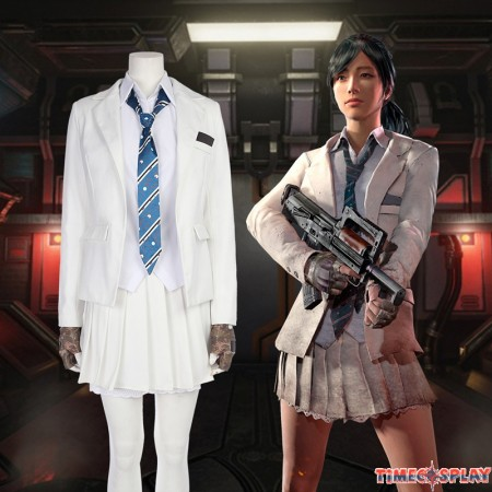 PUBG Women Cosplay Costume PLAYERUNKNOWN'S BATTLEGROUNDS Costume Suit