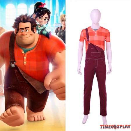 Ralph Breaks the Internet: Wreck-It Ralph Cosplay Costume