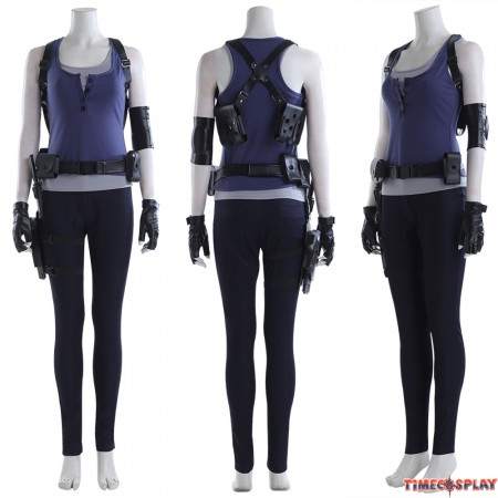 Resident Evil 3 Remake Jill Cosplay Costume