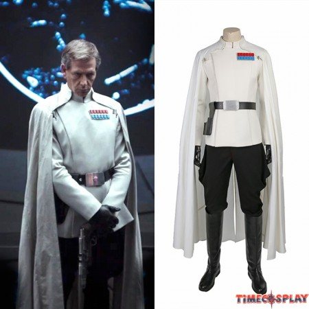 Rogue One: A Star Wars Story Orson Krennic Cosplay Costume Deluxe Outfit