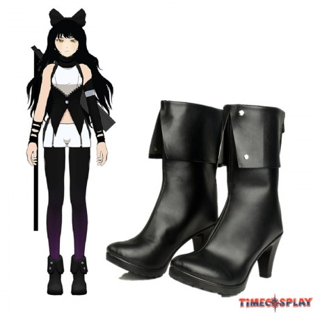 RWBY BlackTrailer Blake Belladonna Boots Cosplay Shoes
