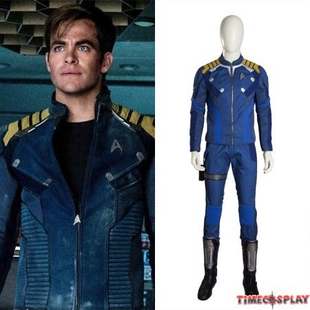 Star Trek Beyond Captain Kirk Cosplay Costume Deluxe Outfit
