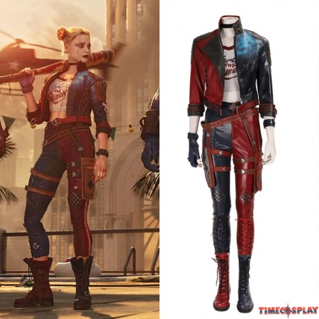 Suicide Squad: Kill The Justice League Harley Quinn Cosplay Costume