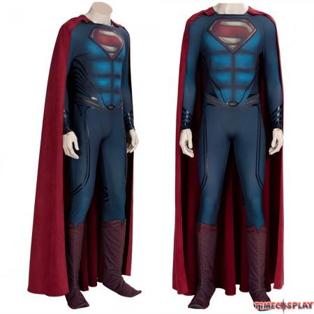 Superman 2: Man of Steel Superman Cosplay Costume