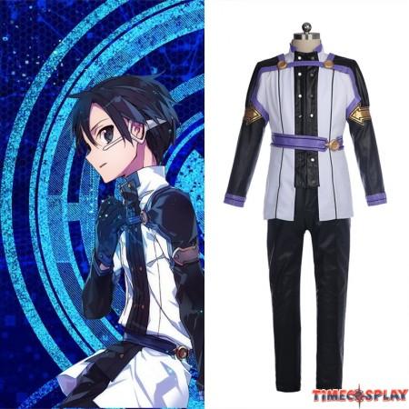 Sword Art Online Ordinal Scale SAO Kirito Cosplay Costume