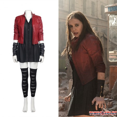 Avengers Age of Ultron Scarlet Witch Cosplay Costume