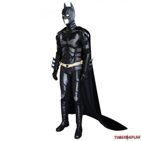 The Dark Knight Rises Batman Cosplay Costume Deluxe Version