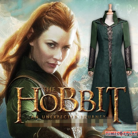 The Lord Of The Rings Cosplay The Hobbit Tauriel Cloak Dress Costumes