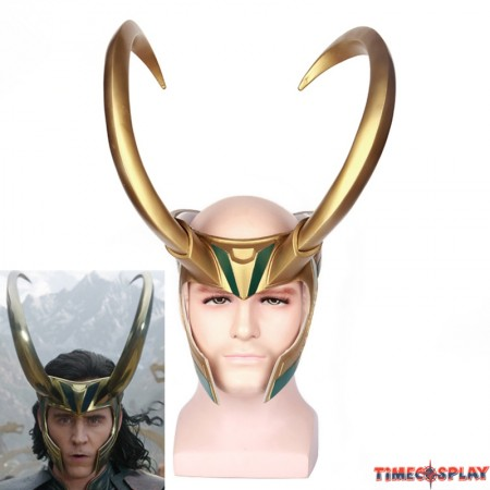 Thor Ragnarok Loki Helmet Cosplay Masquerade Party Mask