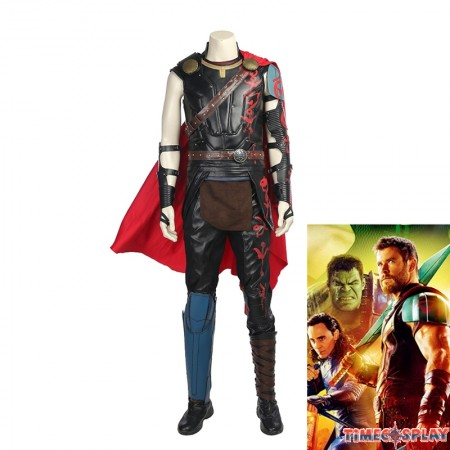 Thor Ragnarok Thor Odinson Costume Thor Cosplay Costume Deluxe Version