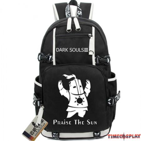 Timecosplay Dark Souls 3 Backpack Praise The Sun Shoulders Bag Schoolbag