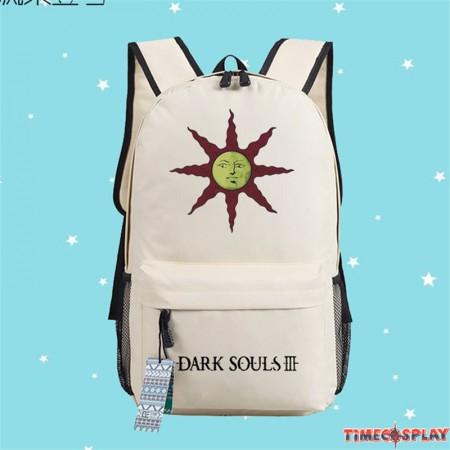 Timecosplay Dark Souls 3 Backpack Sun Logo Shoulders Bag Schoolbag
