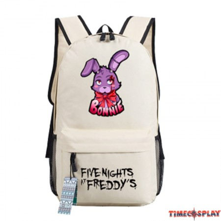Timecosplay Five Nights at Freddys Bonnie the Bunny images Schoolbag Backpack