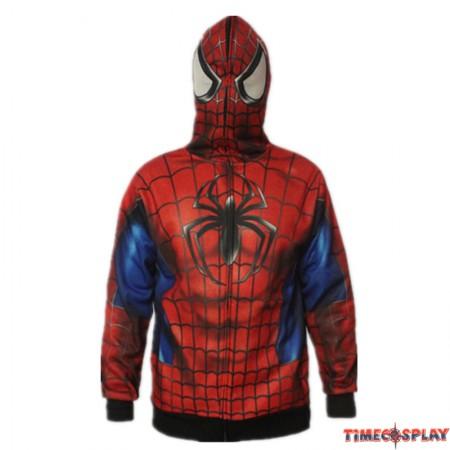 Timecosplay Mavel Spider-Man Cosplay Venosuit Zipper Hoodies Jacket