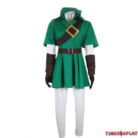 Timecosplay The Legend of Zelda Link Costume Unisex Halloween Cosplay