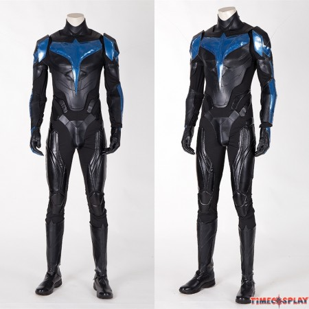 Titans Nightwing Deluxe Cosplay Costume