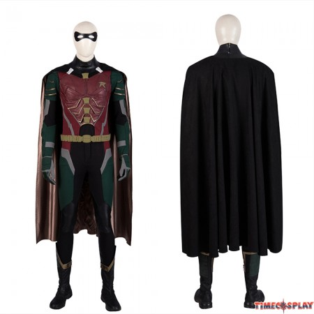 Titans Robin Cosplay Costume Deluxe Version