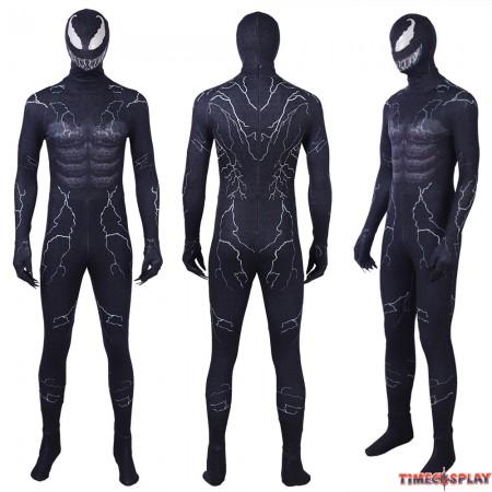 Venom Edward Eddie Brock Venom Cosplay Jumpsuit