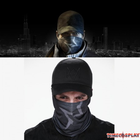 Watch Dogs Accessories Aiden Cosplay Mask