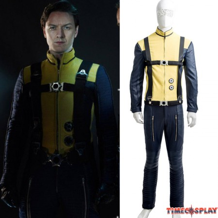 X-Men First Class Professor X Charles Francis Xavier Cosplay Costume