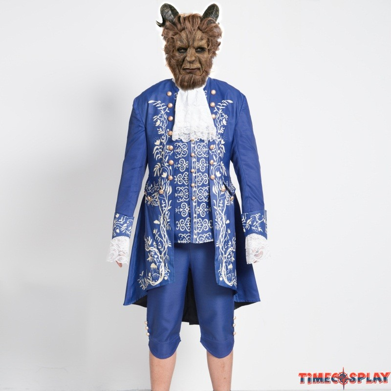 2017 Movie Beauty and the Beast Prince Adam Cosplay Costume Uniform Outfit  sc 1 st  TimeCosplay : beauty beast costume  - Germanpascual.Com