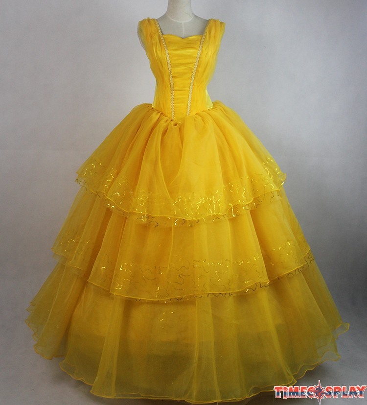 Once Upon A Time Belle Dress