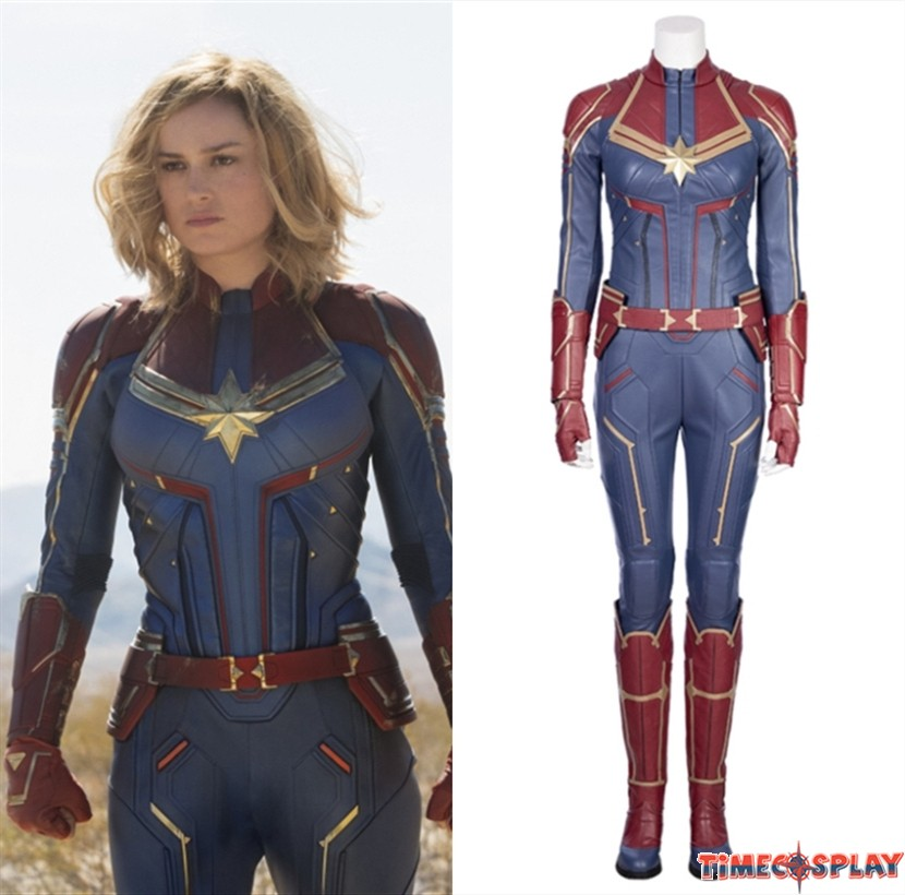 2019 Captain Marvel Cosplay Costume Carol Danvers Costume One of the marvel's most powerful su.per heroes, captain marvel joins the avengers as the key to defeat thanos. 2019 captain marvel cosplay costume carol danvers costume