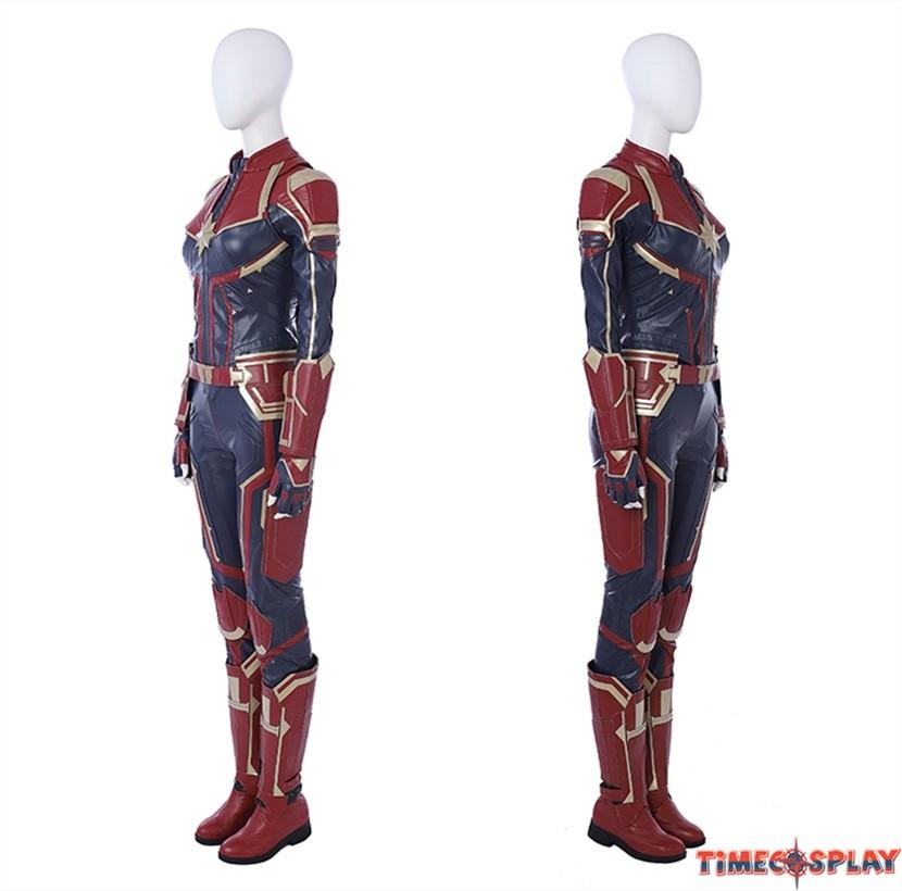 Captain Marvel Costumes Through The Years Avengers endgame child's captain america costume & mask. captain marvel costumes through the years