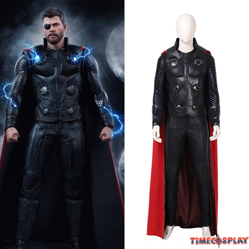 Avengers Infinity War Thor Costume Thor Costume Deluxe Version