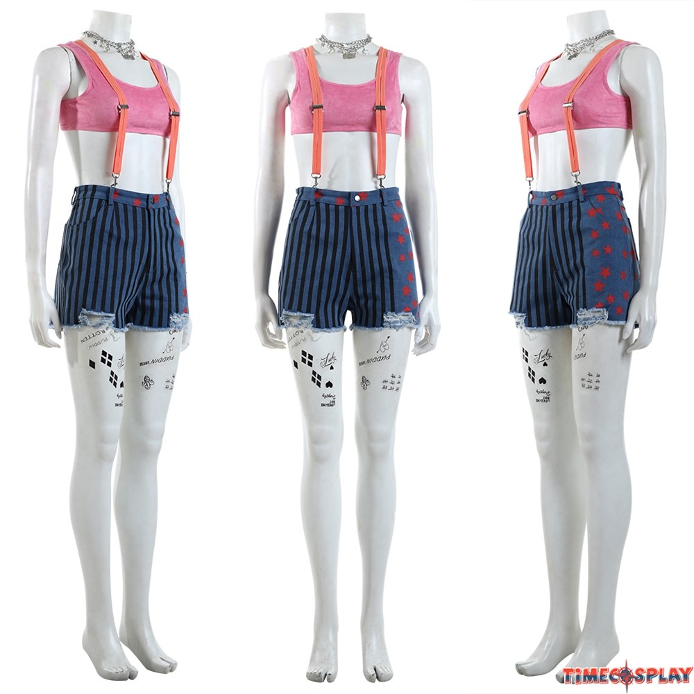 Birds Of Prey Harley Quinn Cosplay Costume Outfit