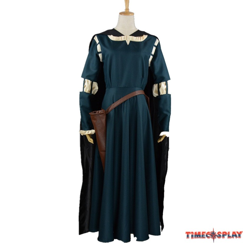 sc 1 st  TimeCosplay & Disney Brave Princess Merida Dress Cosplay Costume Gown