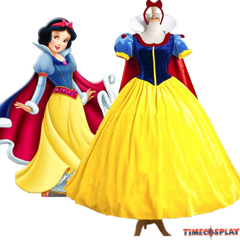 disney movie snow white princess dress cosplay costumes tap to expand