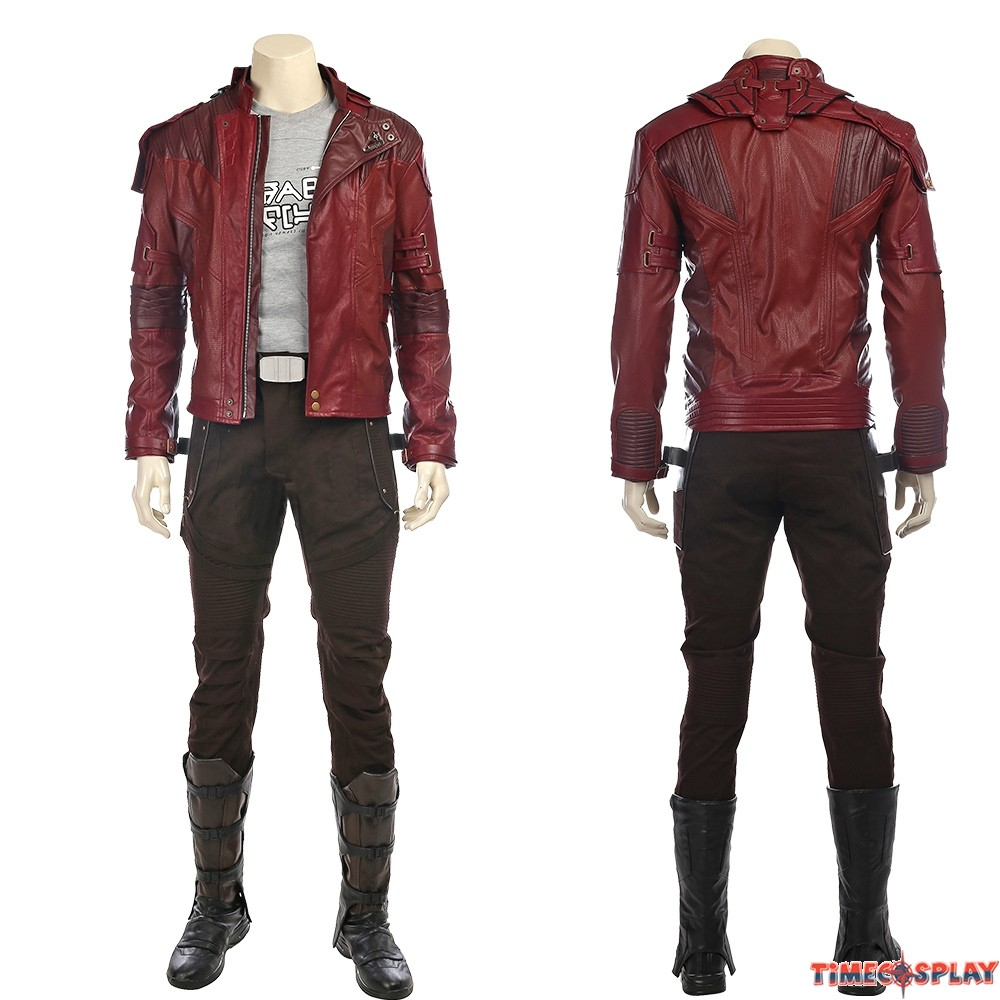e537d357f Guardians of The Galaxy 2 Star Lord Cosplay Costume - Deluxe Version