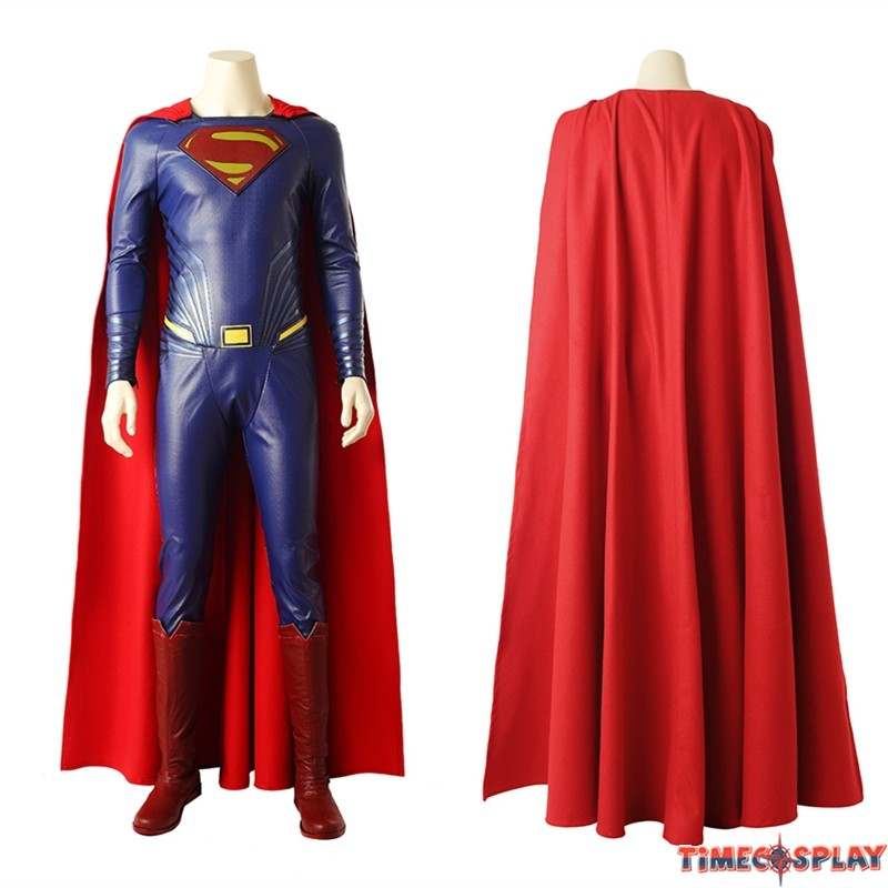 sc 1 st  TimeCosplay & Justice League Superman Costume Clark Kent Cosplay Costume