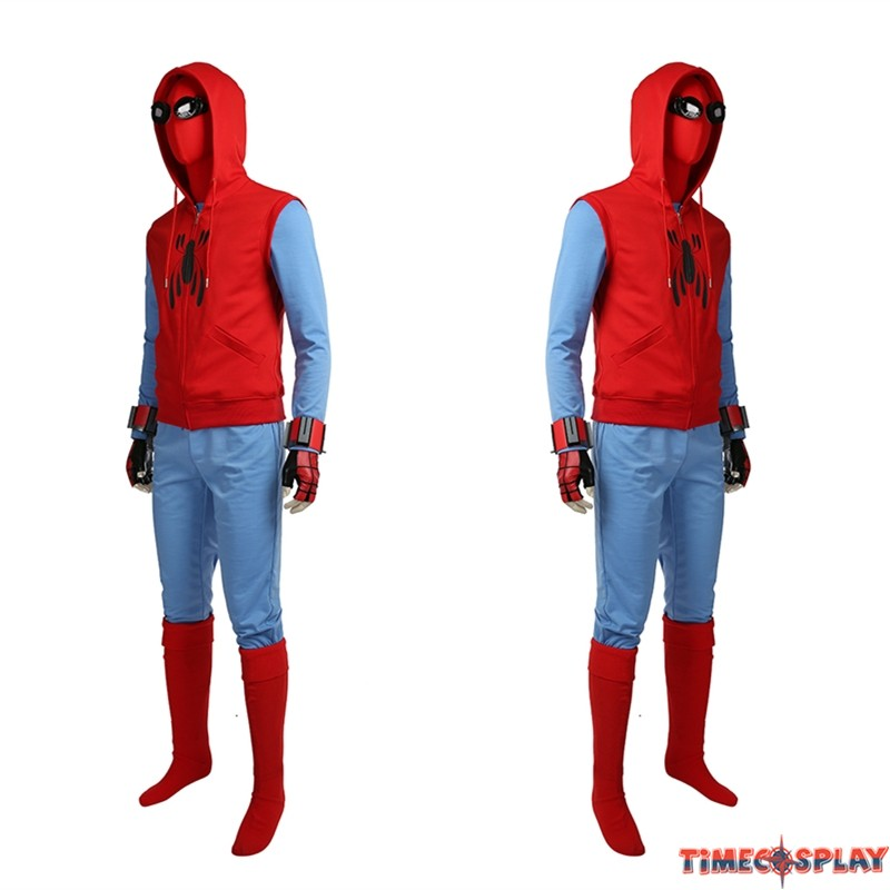 Spider Man Homecoming Cosplay Costume Tom Holland Spiderman Costume