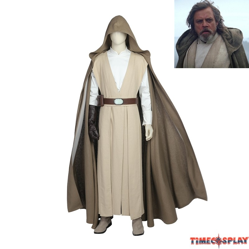 sc 1 st  TimeCosplay & Star Wars 8 The Last Jedi Luke Skywalker Cosplay Costume