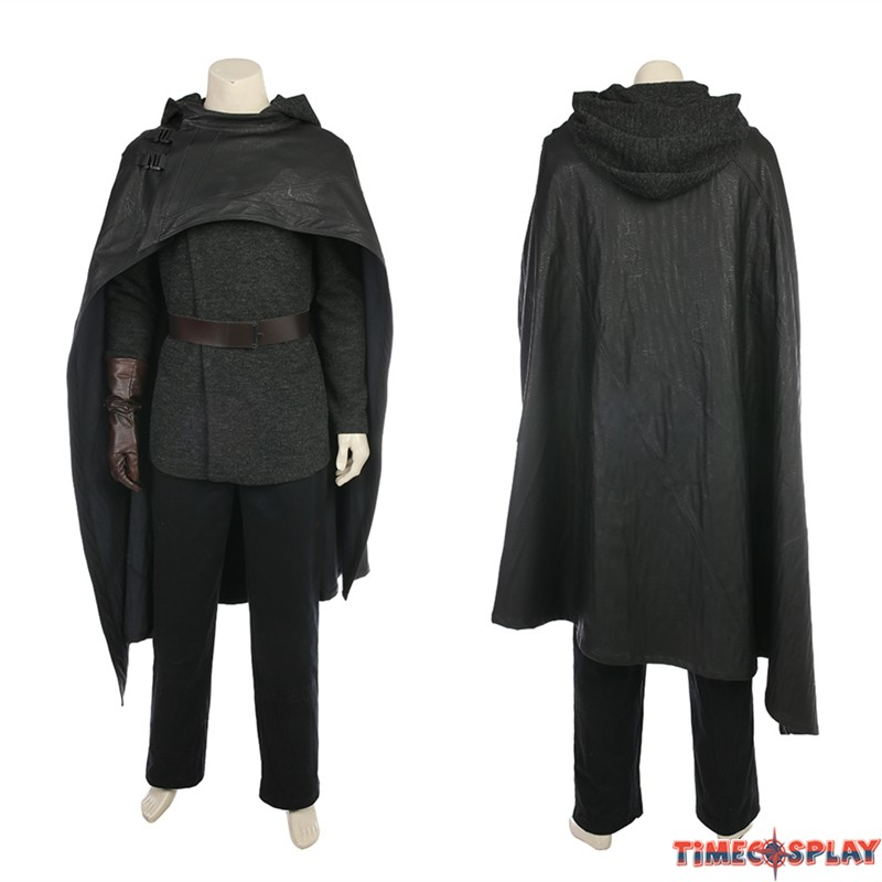 sc 1 st  TimeCosplay & Star Wars 8 The Last Jedi Luke Skywalker Costume Deluxe Cosplay Outfit