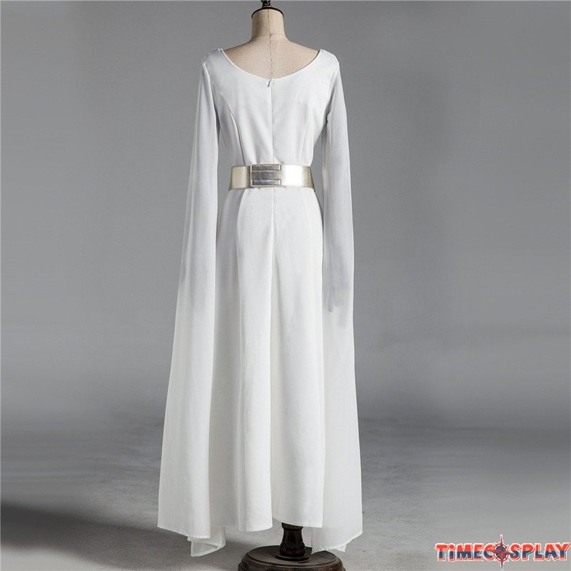 Star Wars A New Hope Princess Leia Cloak Dress Cosplay