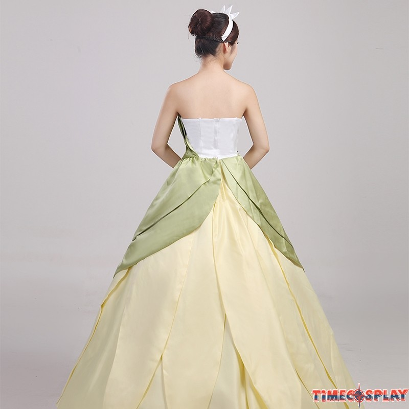 Princess Tiana Dress: The Princess And The Frog Tiana Princess Dress Costume